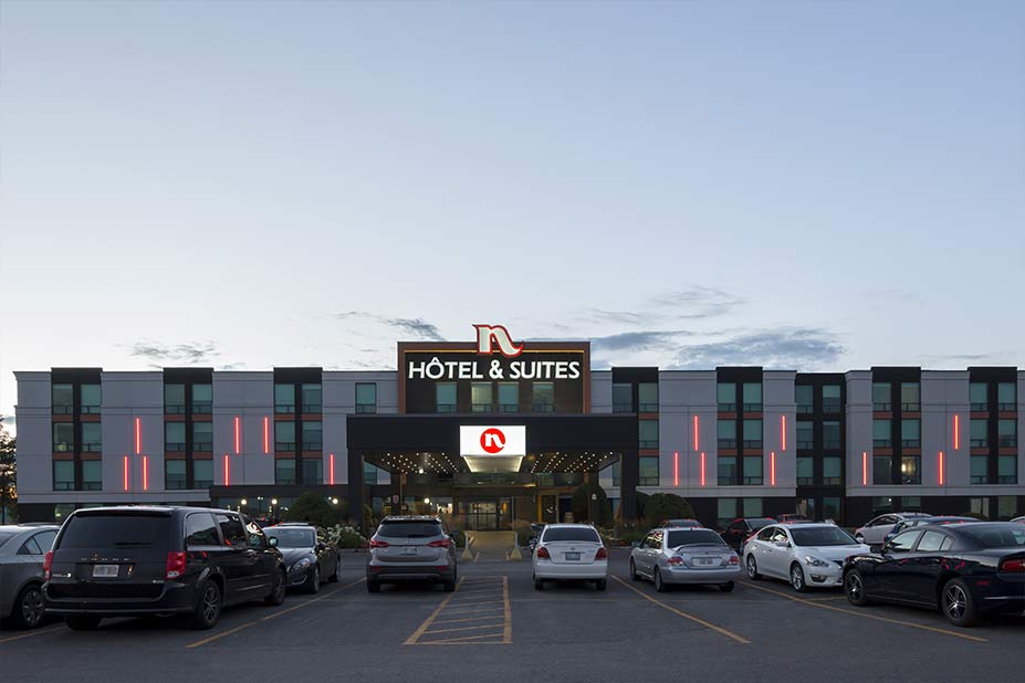 Hotel Suites Normandin Quebec